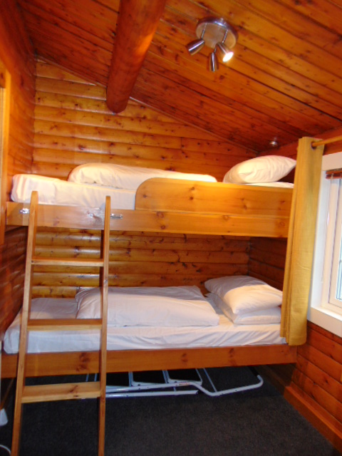 Bunks at Cabin 10