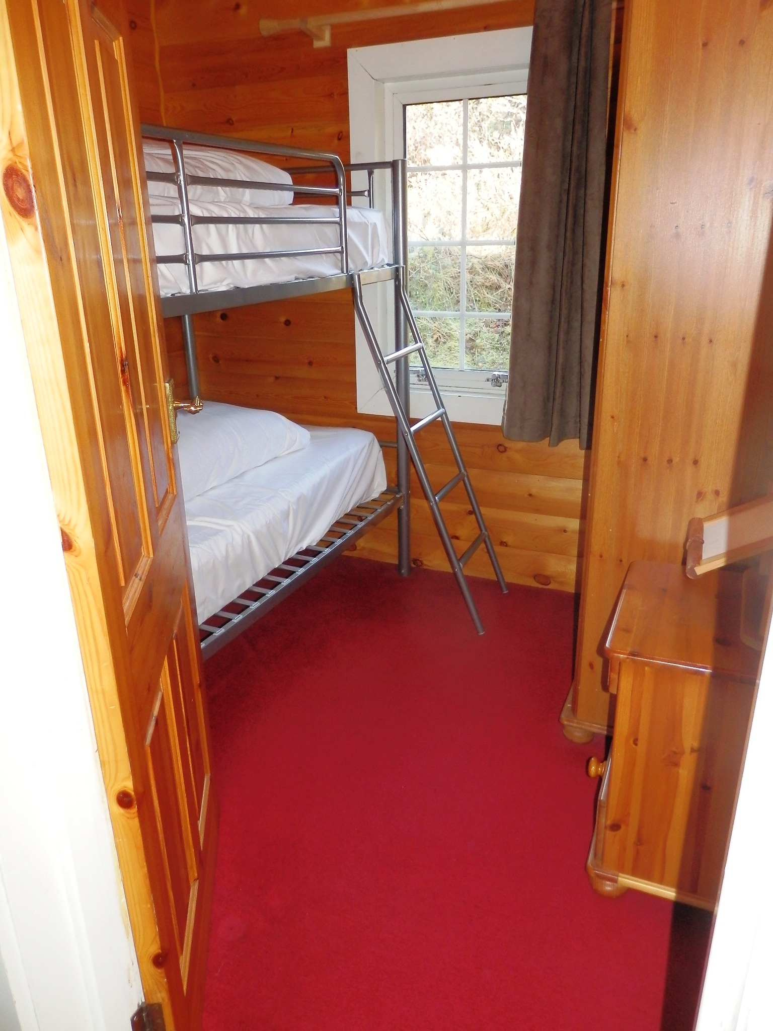 Bunks at Cabin 146
