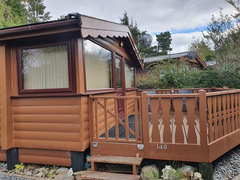 Cabin 140 Exterior